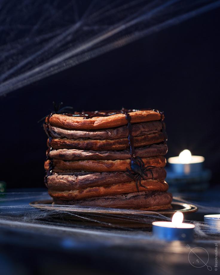 Bezglutenowe pancakesy dla dzieci z dynią i kakaowo-bananowe