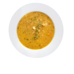 Bezglutenowe słodka zupa z kasztanami
