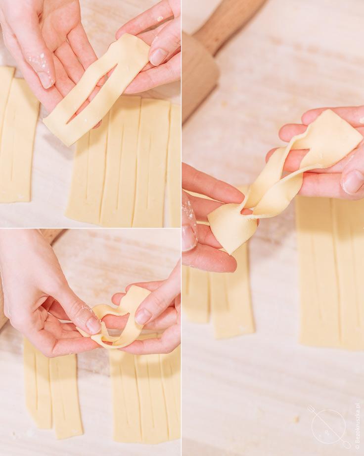 Jak robić faworki chrusty bezglutenowe