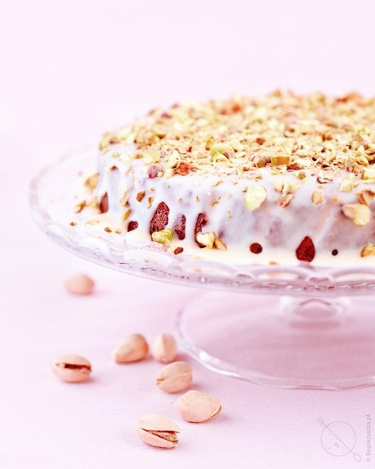ciasto bezglutenowe z mielonych migdałów