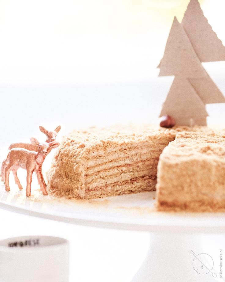 Rosyjski tort chudo bezglutenowy