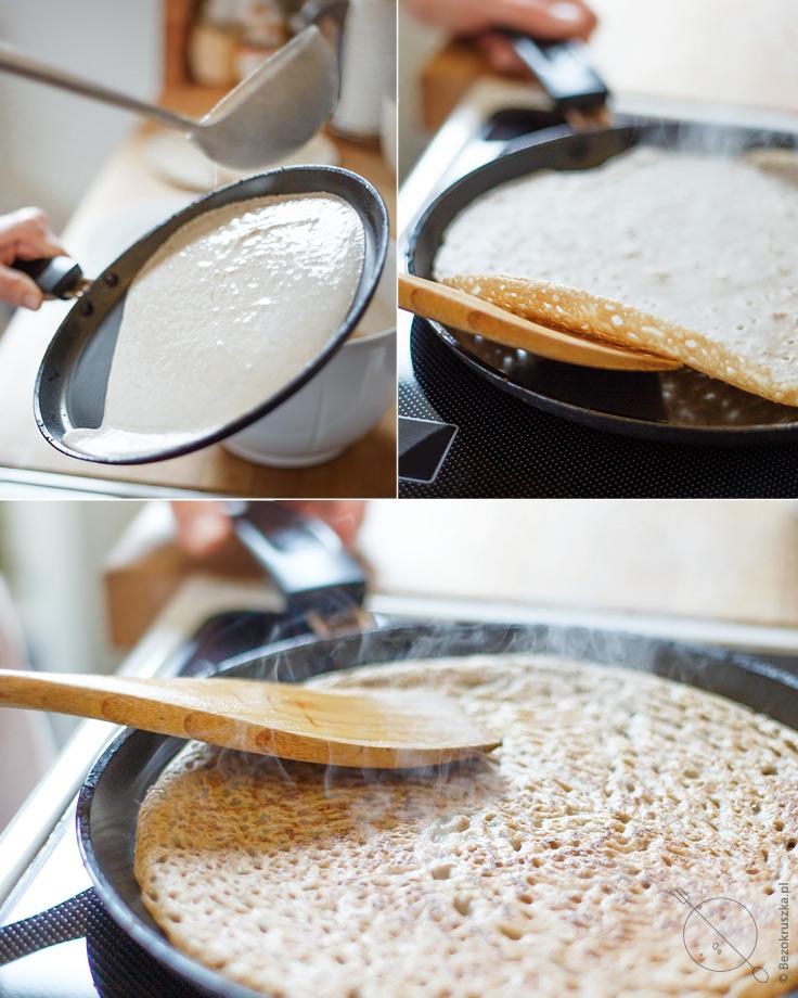 bezglutenowe i wegańskie krokiety z kapustą i grzybami bez mleka i jajek