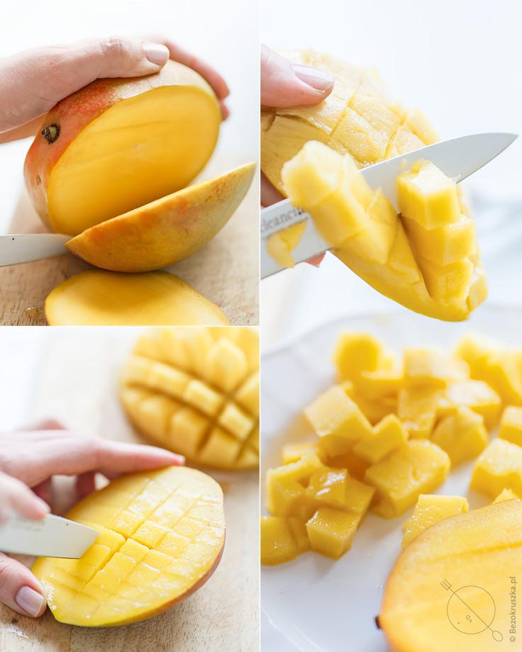 jak pokroic mango muffiny