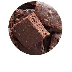 brownie bezglutenowe weganskie czekoladowe ciasto