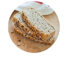 bezglutenowy chleb na drożdżach