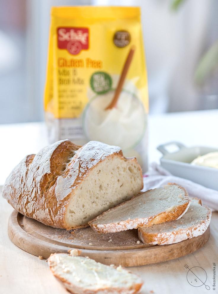 chleb bezglutenowy z garnka Schär