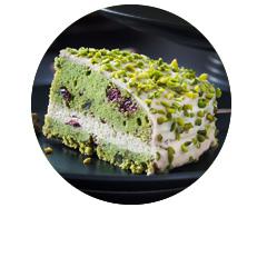 Ciasto pistacjowe ze szpinakiem bezglutenowe