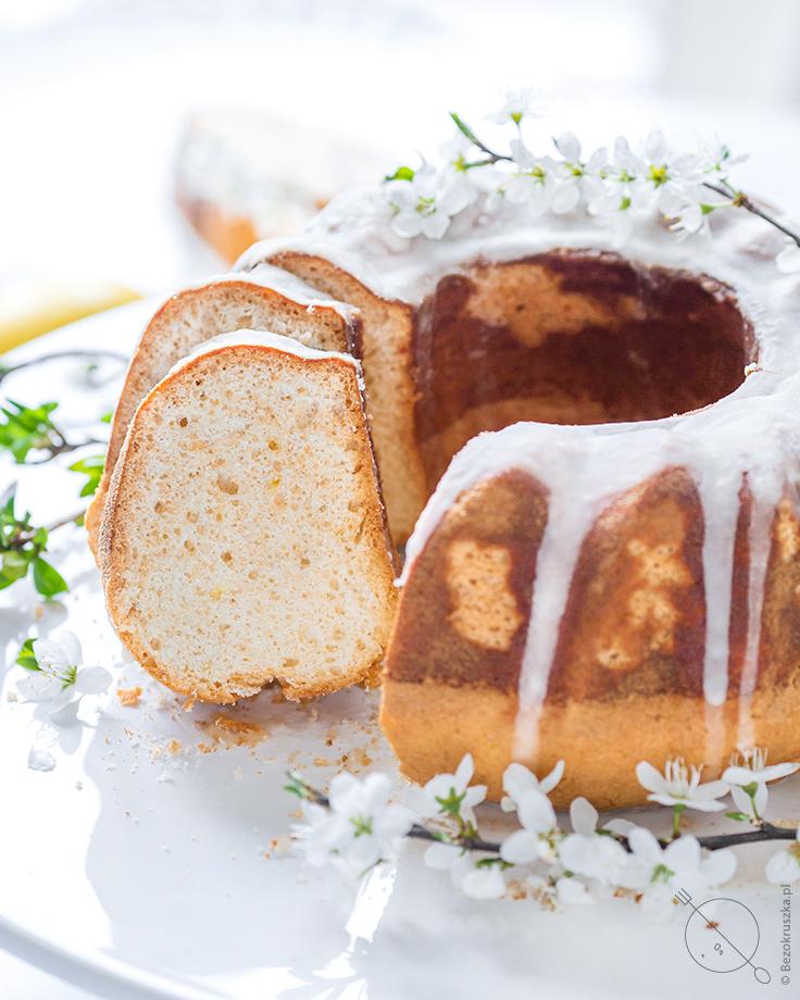dietetyczna bezglutenowa babka ziemniaczana jogurtowo cytrynowa