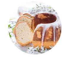 dietetyczna babka ziemniaczana jogurtowo cytrynowa